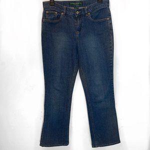 Ralph Lauren Jeans Size 4 Petite Medium Wash